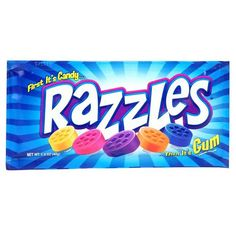 Razzles Gum  Used to get these from the gas station all the time when I was a kid...