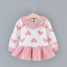 Save it if you like this One :) ! Frocks For Girls, Little Girl Dresses, Girls Dresses, Baby Girl Dress Patterns, Baby Dress, Kids Dress Wear, Matching Family Outfits, Baby Outfits Newborn, Cute Dresses