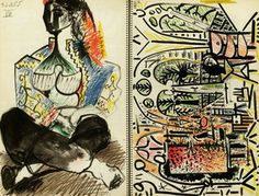 Picasso Sketchbook. . 1960