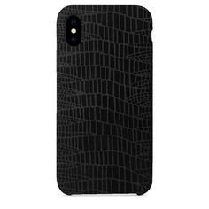Anaconda Black iPhone Case