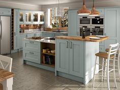 Painted Kitchens & Kitchen Units At Trade Prices - DIY Kitchens