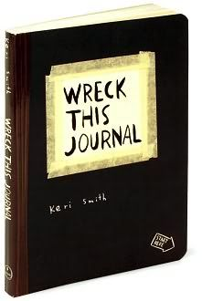 Journals for boys:  Wreck this Journal!