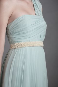 Jeweled Ocean Sash in SHOP Shoes & Accessories Belts at BHLDN