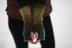 Ravelry: Camp Out Fingerless Mitts by tante ehm