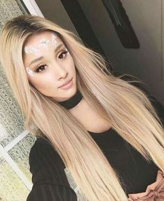 Ariana Grande Blond Hair