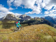 """Mountain Biking in the Dolomites, Fall 2016 #10 - Mountain Biking in the Dolomites, Val Gardena, Italy.  Image available for licensing.  Order prints of my images online, shipping worldwide via  <a href=""""http://www.pixopolitan.net/photographers/oberschneider-christoph-a6030.html"""">Pixopolitan</a> See more of my work here:  <a href=""""http://www.oberschneider.com"""">www.oberschneider.com</a>  Facebook: <a href=""""http://www.facebook.com/Christoph.Oberschneider.Photography"""">Christoph Oberschneider…"""