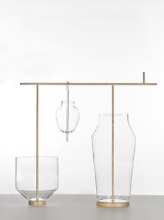 Fabrica for Secondome / Limited edition collection of glass and wood pieces / presentation at Salone Satellite at Fiera Milano / Italy // 2011 //Sam Bardon