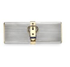 FD GALLERY | Objects | A Silver, Gold and Sapphire Vanity Case, by Hermes, circa 1950