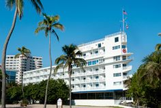 Exterior View of the Iconic Sheraton Fort Lauderdale Beach Hotel! - Older hotel that has been kept up. Just note when I stayed there they were charging $20 a day for self parking. Good hotel otherwise for pre-cruise nights stay.