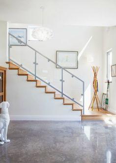 12 gorgeous concrete floors that are surprisingly livable | domino.com