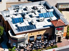 The Cheesecake Factory in Pleasanton, CA, uses its #solar thermal system to offset 15% of their hot water load. So go ahead, indulge in that tiramisu!