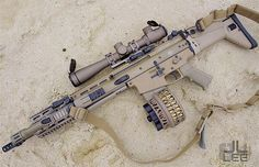 FN SCAR. In my opinion, the SCAR is one of the best battle rifles built.