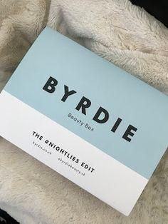 Toria Talks Beauty: Byrdie Beauty Box for Latest In Beauty