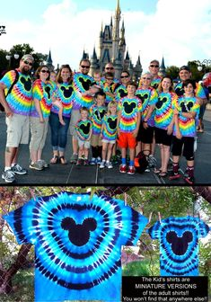 The ORIGINAL Custom Mickey Mouse Famous Hand Made 'Tie-Dye from Heavenly Daze family shirts! Onesies to adult Mickey Mouse Family Shirts, Mickey Shirt, Disney Ties, Disney Shirts, Diy Tie Dye Shirts, Diy Shirt, Tye Dye, Tie Dye Crafts, Tie Dye Techniques
