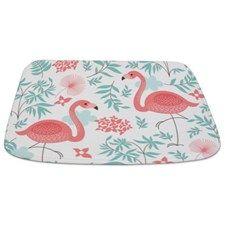 Pink Flamingos Bathmat