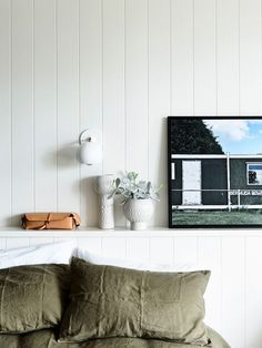 The holiday home of Simone and Rhys Haag and family on Phillip Island. Styling – Simone Haag. Photo – Derek Swalwell on http://thedesignfiles.net