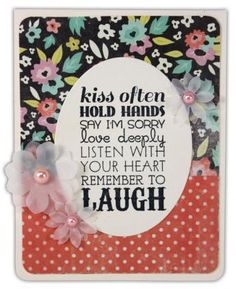 Remember To Laugh Card