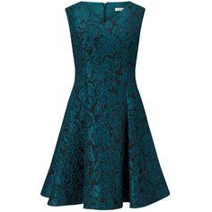 Jacques Vert Petite Jacquard Prom Dress, Dark Blue (121.265 CLP) ❤ liked on Polyvore featuring dresses, gowns, petite, sparkly prom dresses, dark blue dress, prom dresses, floral print gown and floral print maxi dress