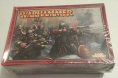 Warhammer Fantasy Dwarfs Thunderers NEW IN FACTORY SEALED SHRINK-WRAP NIB