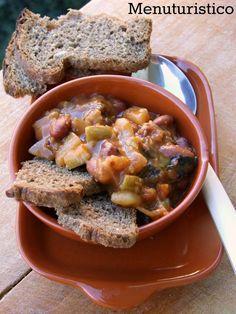 La zuppa della nonna: patate, zucca, fagiolini, ponodori - by Menuturistico