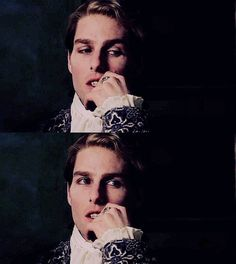 Interview with a Vampire - Lestat Tom Cruise, Vampiro Lestat, Anne Rice Vampire Chronicles, Lestat And Louis, Queen Of The Damned, Real Vampires, Interview With The Vampire, Vampire Books, Creatures Of The Night
