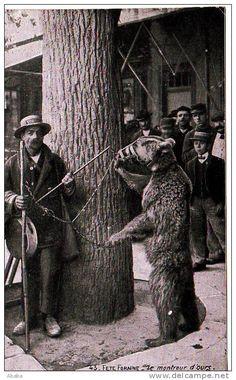 Unclassified - Delcampe.net demonstrator niedźwiedzi stara pocztówka