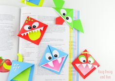 DIY Origami Bookmarks
