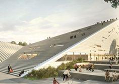 Gli studi Snøhetta e Sanaa hanno ottenuto il primo posto a pari merito, nella competizione progettuale per la definizione di uno dei cinque nuovi musei pre