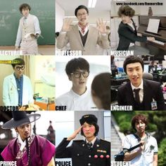 The many disguises of Kwangsoo ~