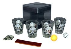 Arrrrg Matey! Shot Glass Game #Skulls!