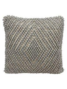 Nourison Life Styles Loop Diamond Pillow