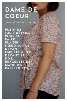 Tailles : du 34 au 56. Patron PDF téléchargeable en ligne. www.chutcharlotte.com Couture, Blouse, Tops, Women, Fashion, Boss, Fishing Line, Moda, Fashion Styles