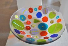 Bowl. Design by MikkalinaGlas. For more see www.mikkalina.com