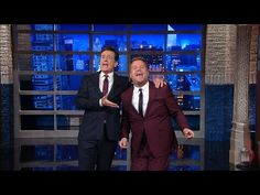 Stephen Colbert And James Corden Sing 'Me And My Shadow' on THE LATE SHOW | Nerdist