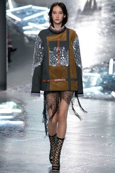 A look from the Rodarte Spring 2015 RTW collection.
