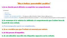 """""""6 balises parentalité positive""""."""