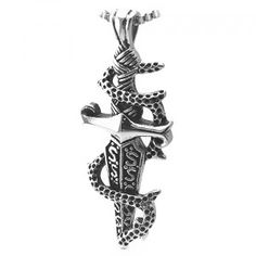 Stainless Steel Sword Shape Pendant