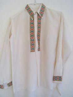 Latvian Hand Crafted Ethnographic Shirt | eBay