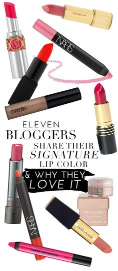 Favorite lipsticks from our favorite bloggers!