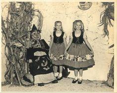 vintage everyday: Creepy Vintage Halloween Costumes from 1800 - 1959