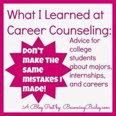 College Major / Future Career Advice?