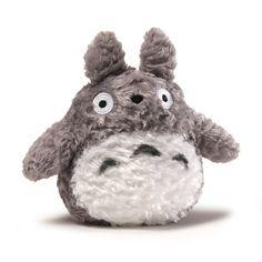 "Fluffy Totoro Gray 6"""""