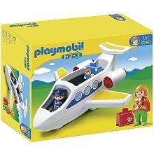 Playmobil 1.2.3 - Avion de ligne - 6780