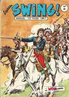 Capt'ain Swing est une revue de l'éditeur Aventures & Voyages. 296 numéros de juillet 1966 à février 1991