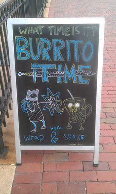 What Time Is It? Burrito Time