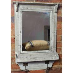Reclaimed Wood Hall Mirror