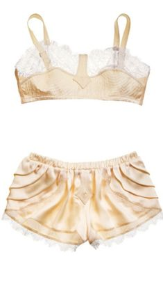 1930s bra and panties set