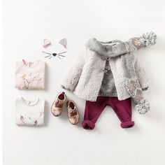 Meow // #girlsfashion #girls #meow #cat #girl #fashion #winterfashion #baby #babyfashion #toddlerfashion #toddler #winter #kids #kidsfashion #instakids #jumper #boots #scarf #tights #flatlay #kidsflatlay