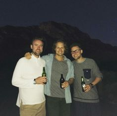 New pictures of Sam Heughan in South Africa See another pic after the jump