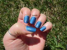"Pupa ""034 Holographic denim blue"""